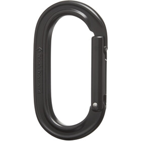 Black Diamond Oval Keylock Carabiner black